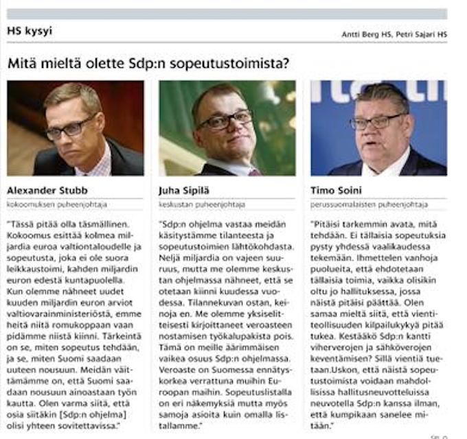 Juha Sipilä: Veroaste on Suomessa ennätyskorkea