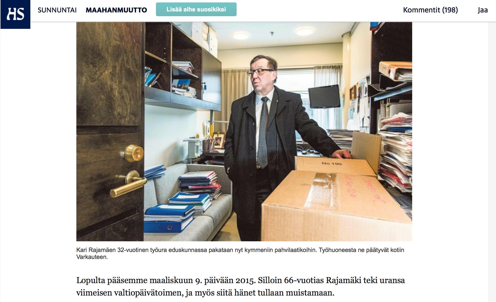Kuinka Kari Rajamäen väite tarkistettiin vaihe vaiheelta