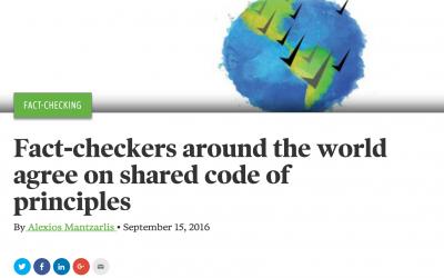 Faktabaari signs to fact-checkers' code of transparency principles