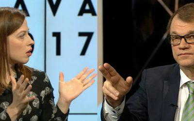 Kuntavaalit puheissa: Andersson ja Sipilä