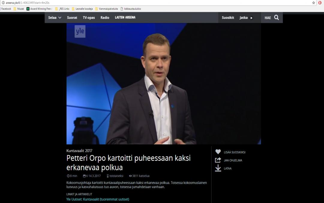 Petteri Orpo: Hallitus ei ole leikannut koulutuksesta