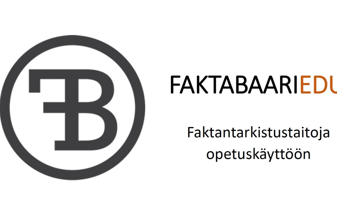 Faktabaari EDU – medialukutaitoa tuleville äänestäjille tuellamme